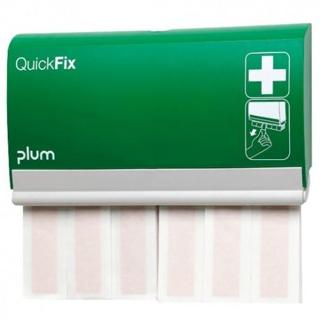 QuickFix® dávkovač se dvěma sadami dlouhých textilních elastických náplastí