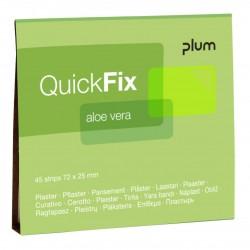 QuickFix® náhradní balení náplastí  s Aloe Vera s perforací