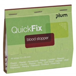 QuickFix® náhradní balení náplastí Blood Stopper s perforací