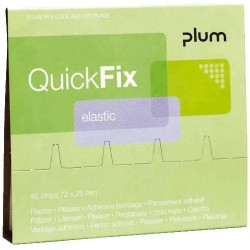 QuickFix náhradní balení textilních elastických náplastí
