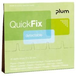 QuickFix® náhradní balení detekovatelných náplastí