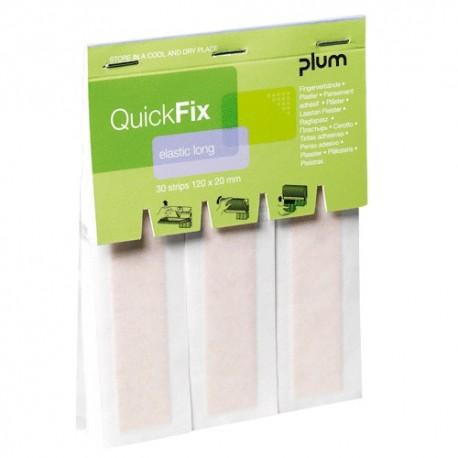 QuickFix® náhradní balení dlouhých textilních elastických náplastí