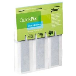 QuickFix® náhradní balení dlouhých detekovatelných náplastí