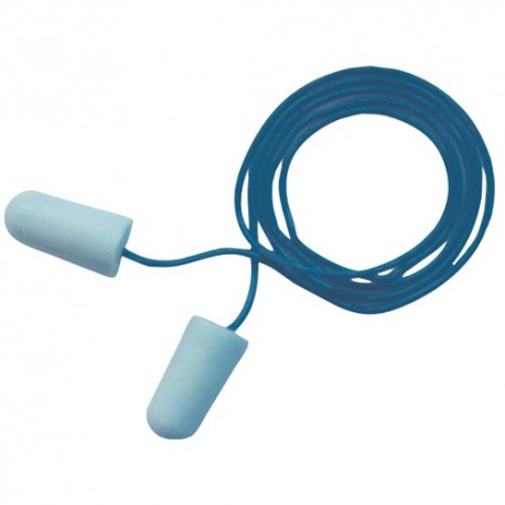 3M EAR Soft špunty do uší se šňůrkou, detekovatelné