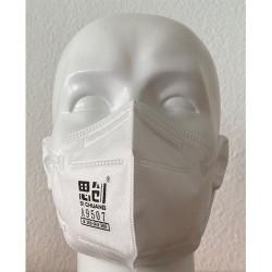 B-SAFETY FFP2 respirátor KN95, skládací maska, 20 ks