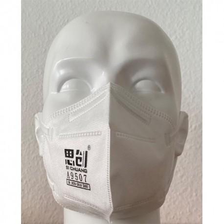 B-SAFETY FFP2 dýchací maska KN95, skládací maska