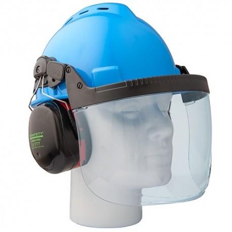 Průhledný štít z polykarbonátu pro ochranné přilby B-SAFETY TOP-PROTECT