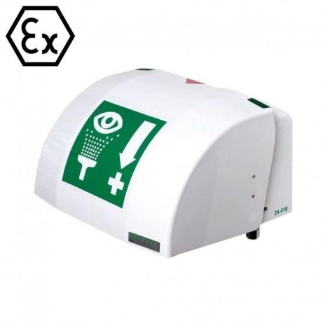 PremiumLine® Mrazuvzdorná vyhřívaná oční a obličejová sprcha s miskou a krytem z ABS