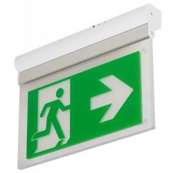 L-LUX STANDARD ECO - univerzálně použitelné svítidlo pro označení únikové trasy