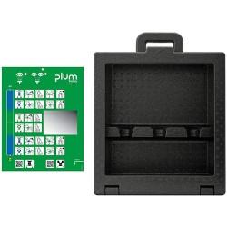 iBox 3 - odolný box  pro 3 vymývačky a sprej