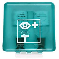 Ochranný box SecuBox Midi, zelený– určený pro vymývací láhve pro výplach očí