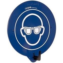 SecuPoint – Nástěnný hák s piktogramem Ochrana zraku