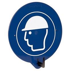 SecuPoint – Nástěnný hák s piktogramem Ochrana hlavy