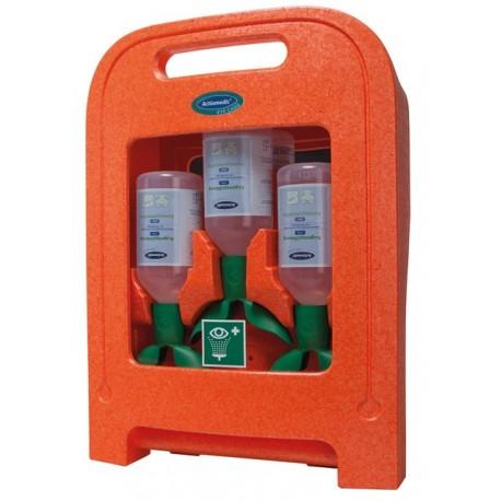 Nástěnný i přenosný prachotěsný box Actiomedic® Medi2Protect TWIN II