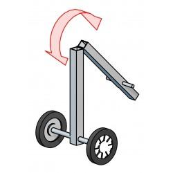 Příslušenství k tankové sprše: vozík s kulovým čepem